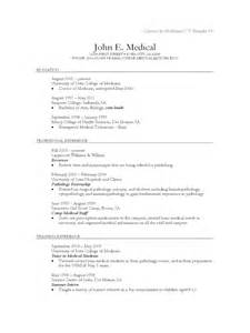 Curriculum Vitae Md by Medical Cv Template 2 Free Templates In Pdf Word Excel