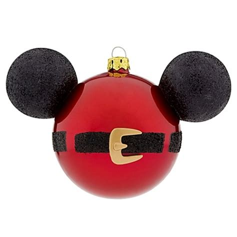 disney christmas ornament set best of mickey santa