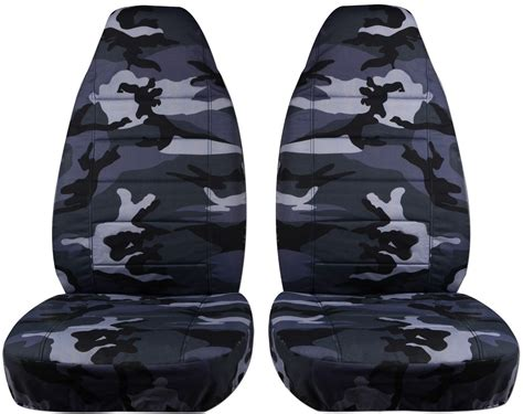 camo seat covers camouflage car seat covers front semi custom tree