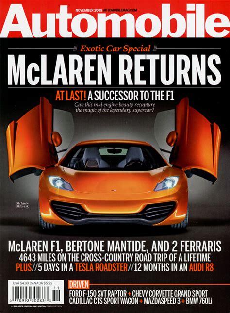 Auto Zeitschriften by Opinions On Automobile Magazine