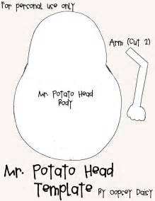 Mr Potato Template by Book Templates Oopsey