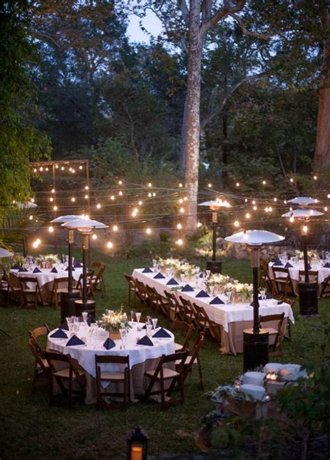 how to have a backyard wedding reception 25 best ideas about outdoor wedding tables on pinterest