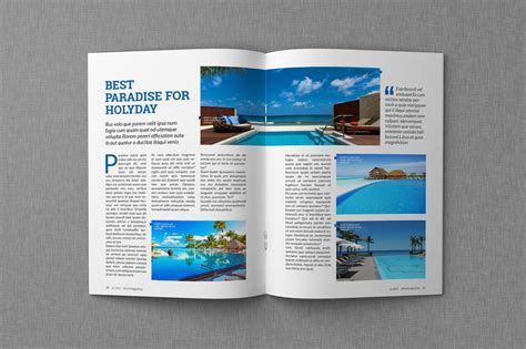 magazine layout design template magazine indesign templates dealjumbo