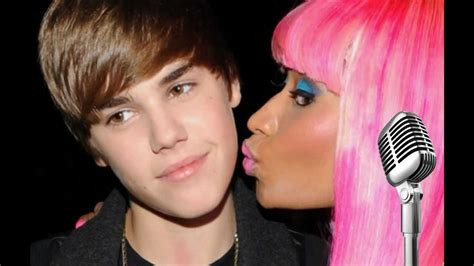 de justin bieber y nicki minaj justin bieber ft nicki minaj beauty and a beat youtube