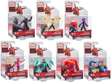 Big 6 Figure disney big 6 figures bnip ebay