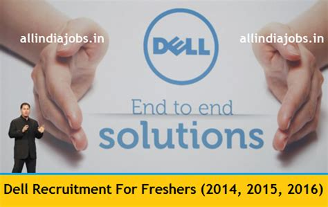 Careers For Mba Freshers 2015 dell recruitment 2018 2019 openings for freshers