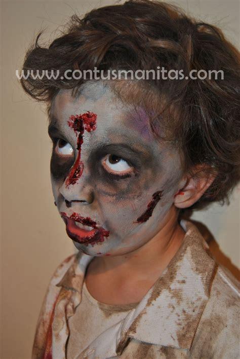 imagenes de zombies para halloween para niños tutorial de disfraz de zombie parte 2 el maquillaje