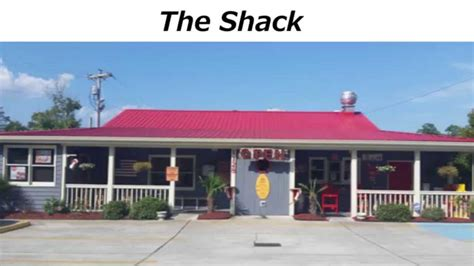north myrtle beach restaurants the shack reviews north myrtle beach sc restaurant