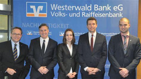Erstmals Anlegermesse Bei Der Westerwald Bank