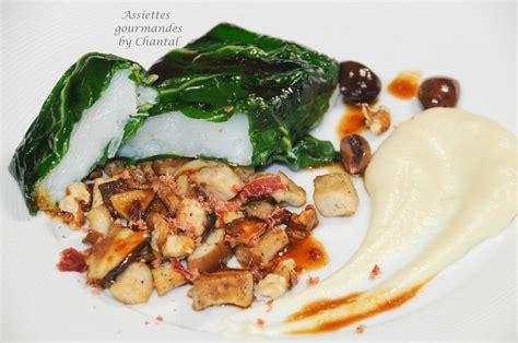 cuisine blette recette de cabillaud recette de poisson