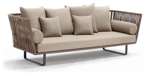 3 seater outdoor sofa bitta 3 seater sofa contemporary outdoor sofas by kettal