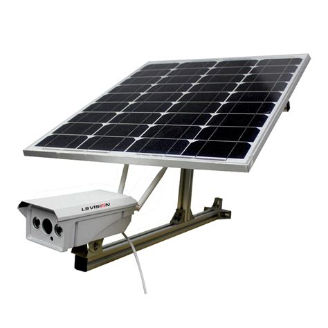solar powered wireless wifi cctv camera  ip camera  solar panel supplier  manufacturer