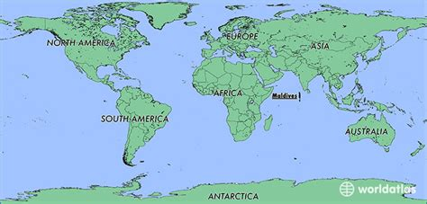 maldives   maldives located