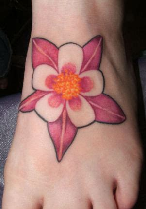 columbine tattoo columbine flower photos designs