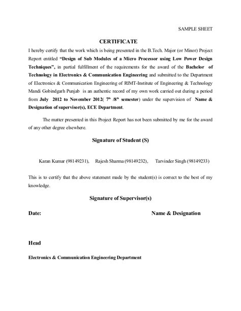 Acknowledgement Format For Mba Project Report by Thesis Title Page And Acknowledgements Sle