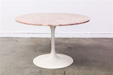 Tulip Style Dining Table Mid Century Tulip Style Dining Table W Marble Top Vintage Supply Store