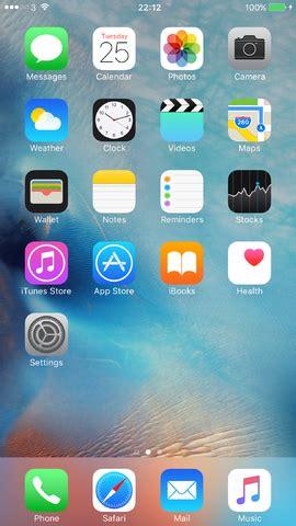 image ios 9.0 beta homescreen.png | apple wiki | fandom
