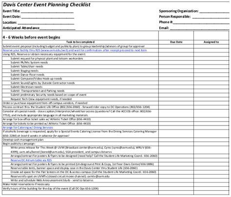 checkliste download free