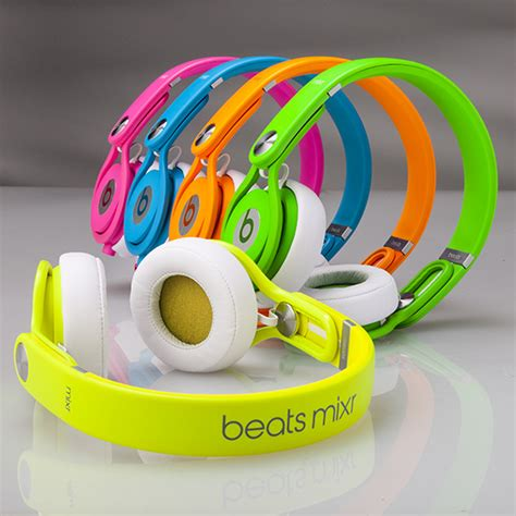 Limited Headset Beats Audio Me 206 Earphone Musik Universal make it pop with beats by dr dre neon headphones