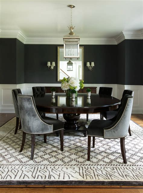 dining room designs elegant modern style round table round dining table to decorate your home