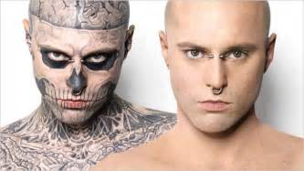 The most amazing use of cosmetic camouflage zombie boy rick genest