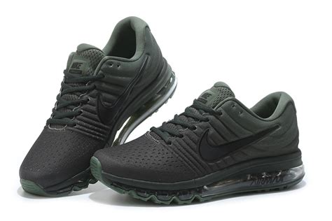 Nike Airmax Army cheap nike air max 2017 mens running shoes black army