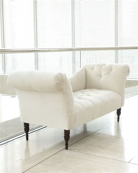 white settee bench create a winter white bedroom by placing this white