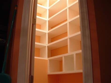 How To Build Pantry Shelves by Building Pantry Shelves Markitude