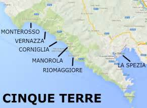 Italy Cinque Terre Map by Cinque Terre Italy Map Related Keywords Amp Suggestions