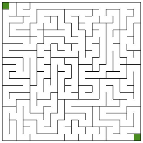 How To Make A Maze On Paper - printable mazes freeology