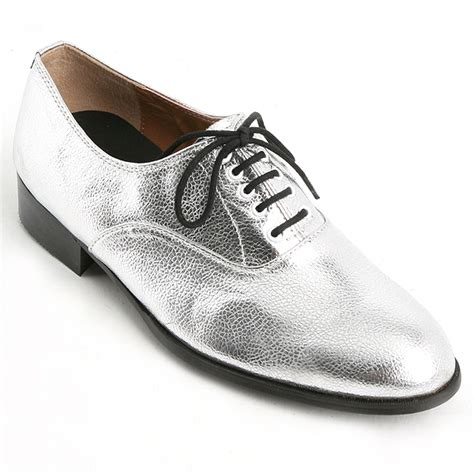 glitter oxford shoes mens glitter silver lace up oxfords dress shoes