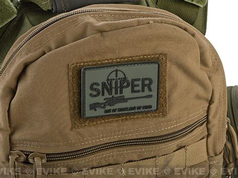 Rubber Patch Rubber Perekat Karet Pvc Airsoft Sniper Pvc Hook And Loop Iff Patch Quot Sniper Out Of Sight Out