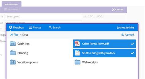 dropbox yahoo yahoo mail se foloseste de dropbox pentru atasamentele de