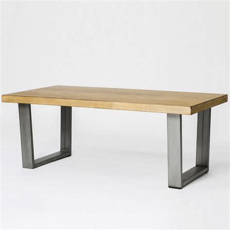 floyd table legs uk floyd wooden coffee table rectangular in oak with metal