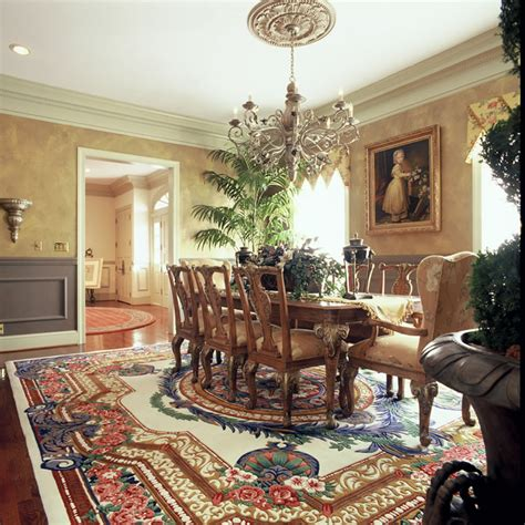 Formal Dining Room Rugs by Custom Area Rugs Kansas City Traditional And