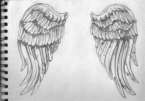 doodle angles how to draw realistic wings www imgkid the