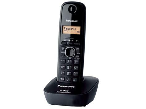 Telephone Wireless Panasonic Kx Tg3711bx Black panasonic cordless kxtg 3411bx landline phone