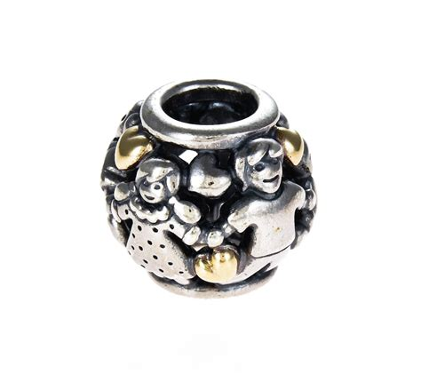 Family Home Silver Charm P 273 pandora silver 14ct gold family charm 791040 greed jewellery