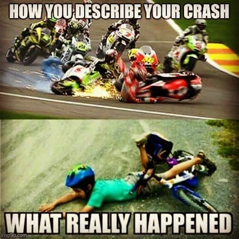 Bike Crash Meme - 41 best images about bike memes on pinterest ducati