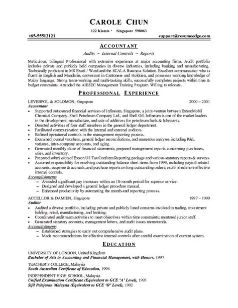 25 best ideas about chronological resume template on resume format exles