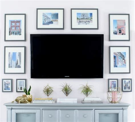 bedroom tv ideas best 25 decorating around tv ideas on tv wall