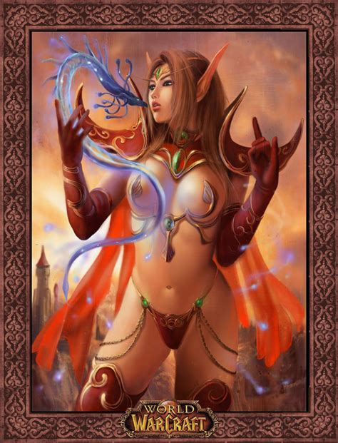 Azazel Blood Elf World Of Warcraft Unsorted Hentai Wallpapers Hentai Wallpapers