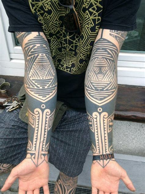 blackwork tattoo with sacred geometry and geometric 40 mysterious sacred geometry tattoo meaning and designs