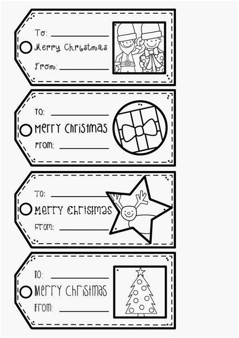 printable christmas tags to color christmas gift tags from the pond