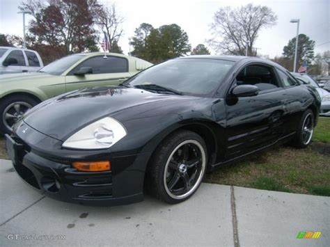 eclipse mitsubishi black 2005 mitsubishi eclipse black 200 interior and exterior