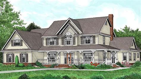 traditional country house plans house plan 96880 at familyhomeplans com