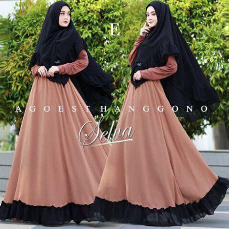 Pusat Grosir Baju Keevara Dress Basic Jersey selva dress by agoest hanggono jual gamis terbaru pusat grosir baju muslim