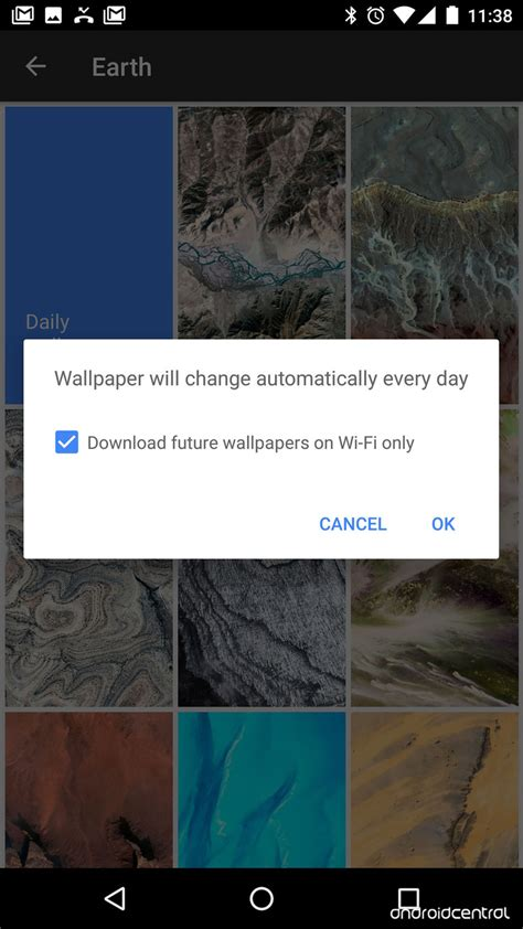 google wallpaper application google s fancy new wallpaper app is the best thing about