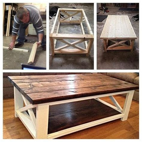 make all from wood 25 best ideas about diy coffee table on pinterest