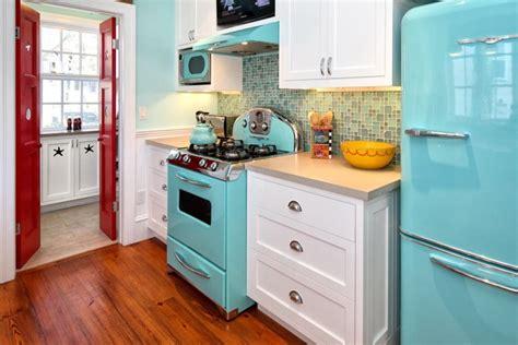 vintage style kitchen retro style interior design ideas